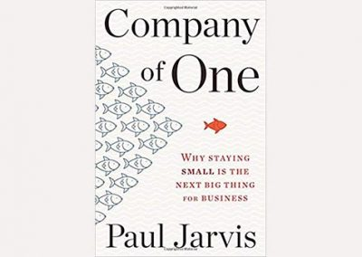 Libro: Company of one by Paul Jarvis